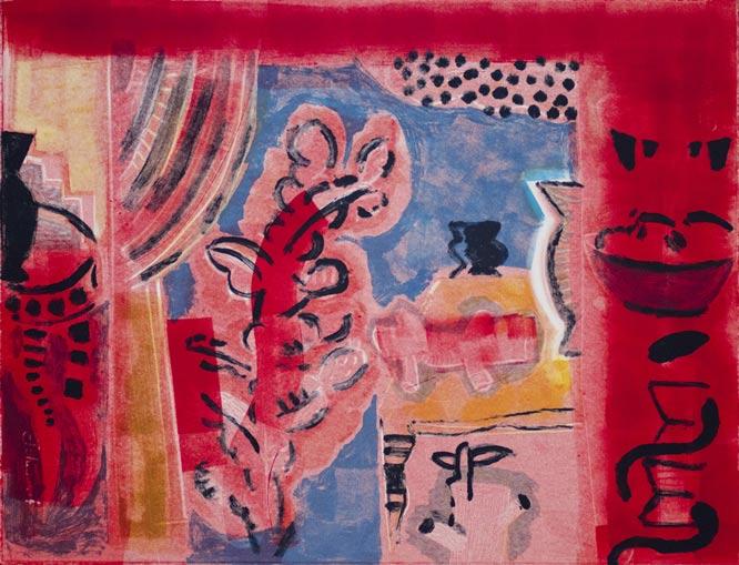 Andre naude, original prints, monoprints