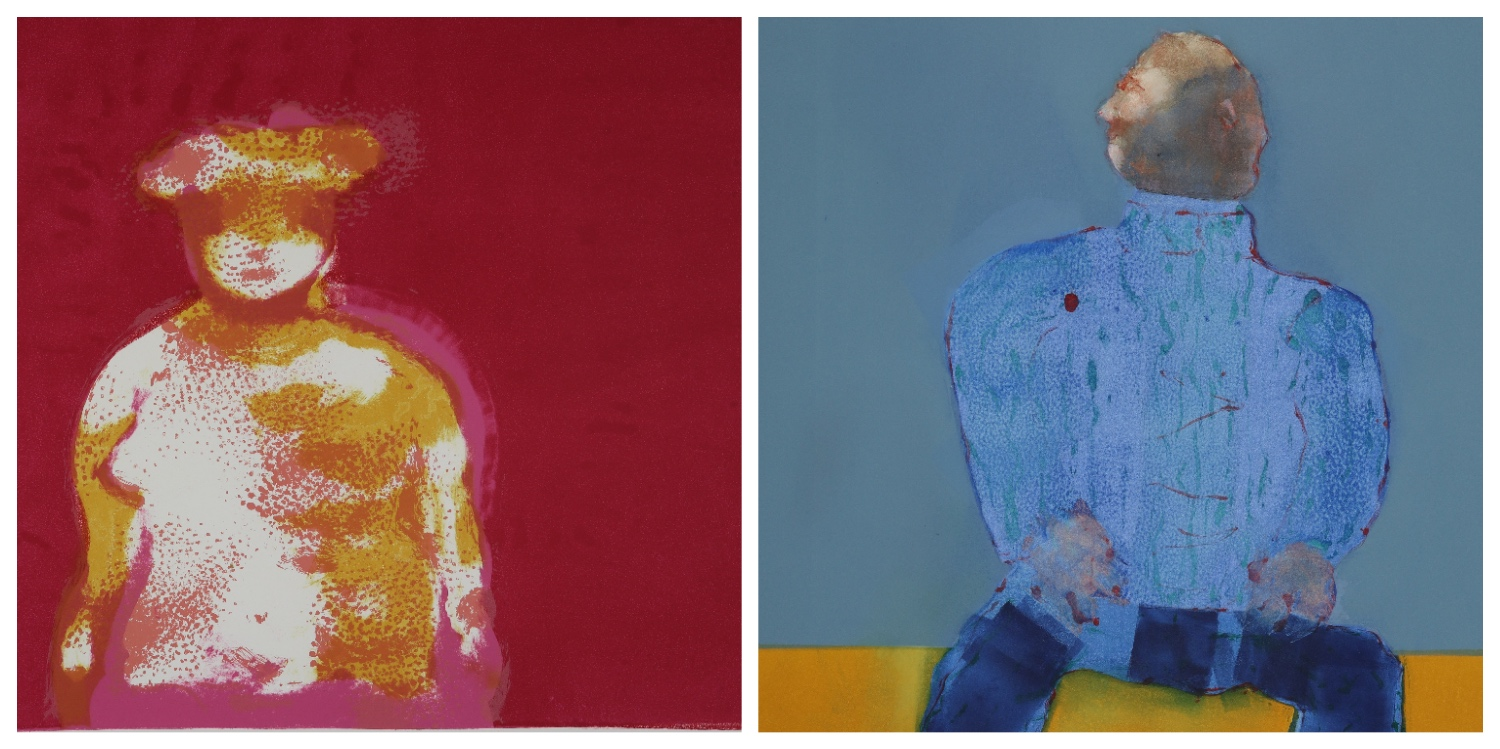 Details of two prints by Robert Hodgins that are the link to his page on the website