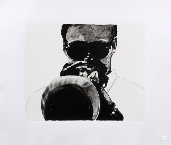 sam nhlengethwa jazz images, kind of blue prints