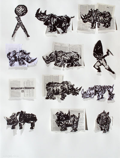 william kentridge, william kentridge prints, william kentrige the artists press