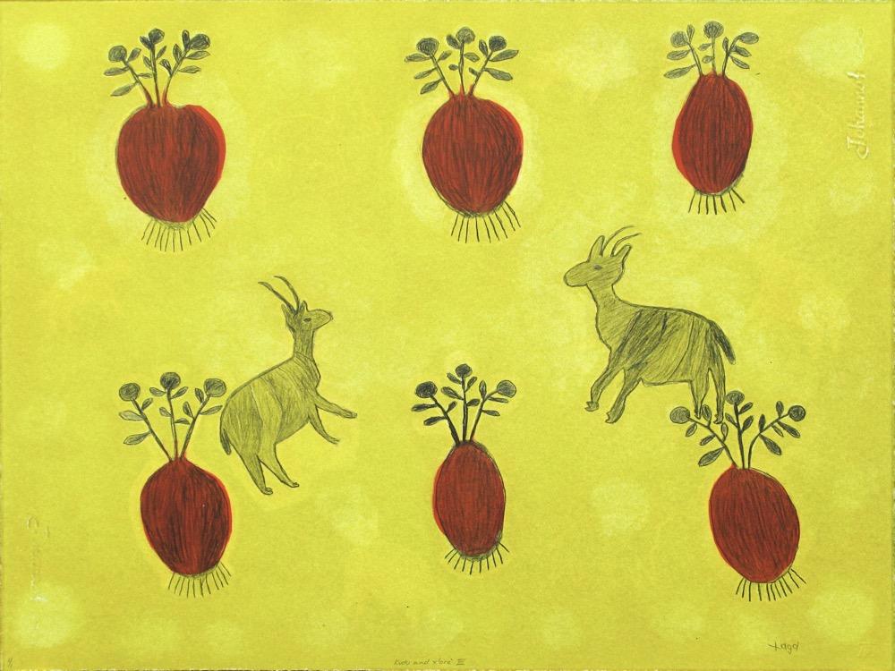 Kuru art project, San woman artists, Botswana artists