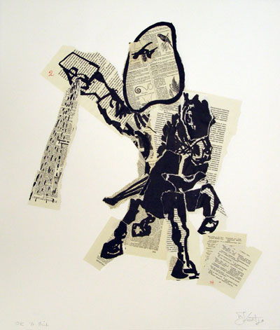 William kentrige the artists press, kentridge lithographs