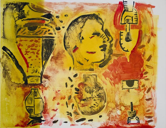 andre naude,monoprints, south african prints