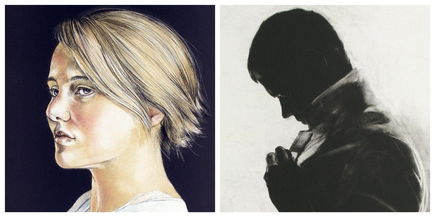 Details of two lithographs by Hanneke Benade to link to her page on the website