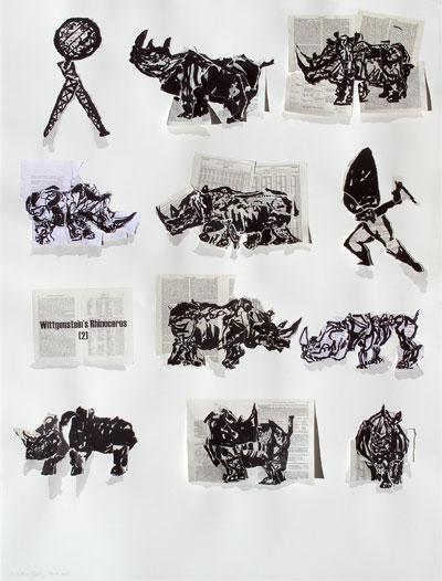 william kentridge, william kentridge prints, william kentrige the artists press